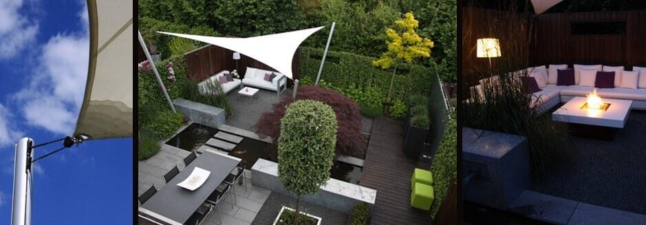 Tuinontwerpen voorbeelden strak-modern-design van Van Gelder Tuinen uit Ridderkerk