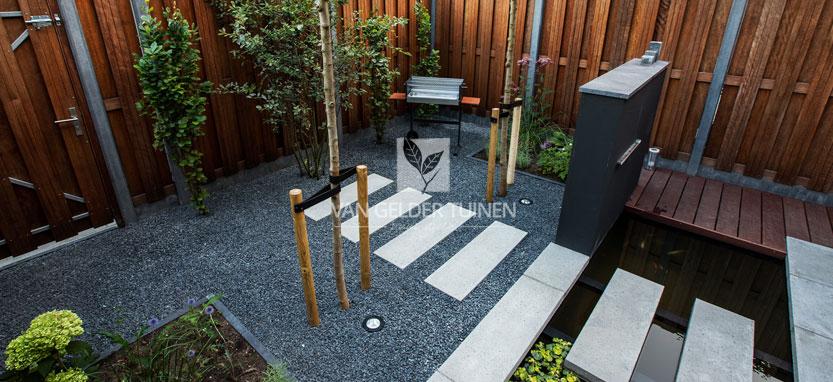Tips en idee n voor de inrichting van de kleine tuin for Nieuwbouwhuis inrichten tips