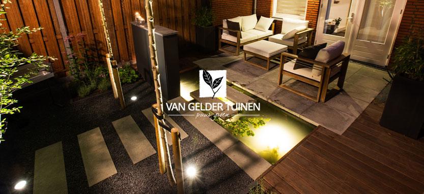 Moderne tuin laten ontwerpen