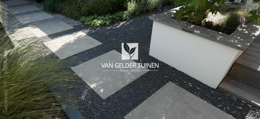 Moderne Strakke Stadstuin Bij Jaren 30 Woning Van Gelder Tuinen
