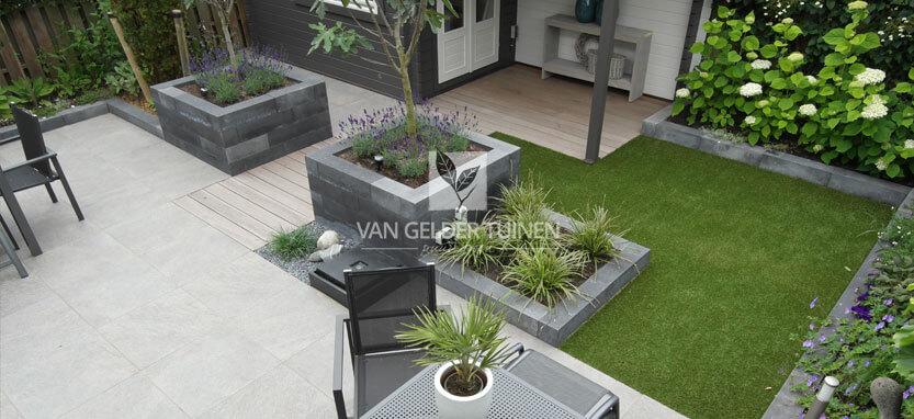 Voorbeeld tuin tuinontwerp tuinplan laten maken moderne for Tuinontwerp boek