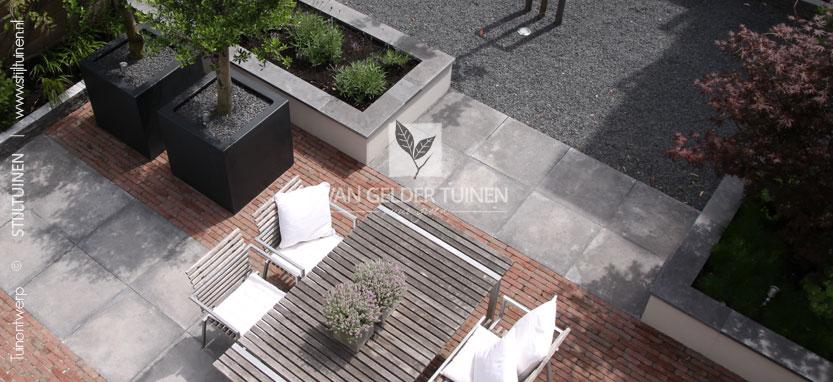 Kleine tuin modern tuinontwerp